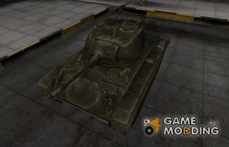 Шкурка для американского танка M24 Chaffee для World of Tanks