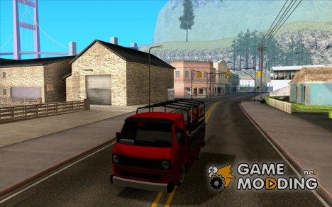 Volkswagen Transporter T3 pickup for GTA San Andreas