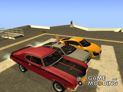 Pack cars by DSR-I