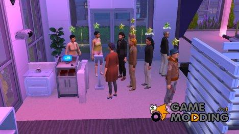 Посетители для магазина для Sims 4