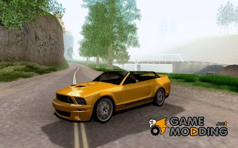 Shelby GT500 convertible для GTA San Andreas