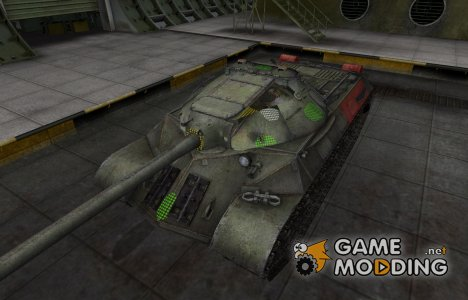 Зона пробития ИС-3 для World of Tanks