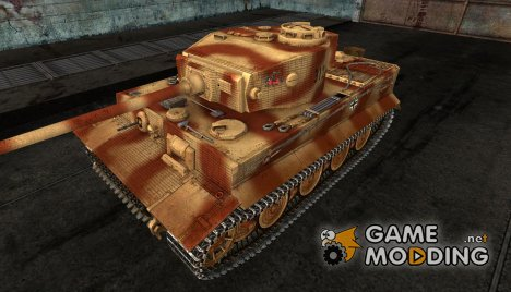 Шкурка для PzKpfw VI Tiger для World of Tanks