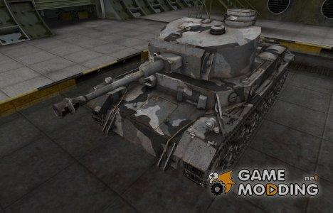 Шкурка для немецкого танка VK 30.01 (P) for World of Tanks