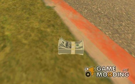 Новые текстуры денег for GTA San Andreas