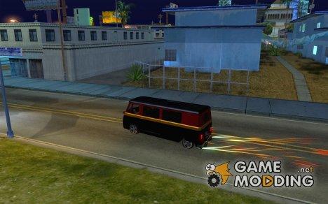 Горение авто как в GTA 4 for GTA San Andreas