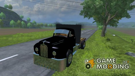 Mack B63 Flatbed для Farming Simulator 2013