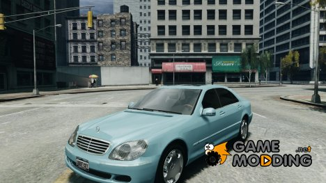 Mercedes-Benz W220 for GTA 4