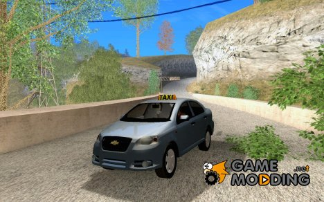 Chevrolet Aveo Taxi for GTA San Andreas