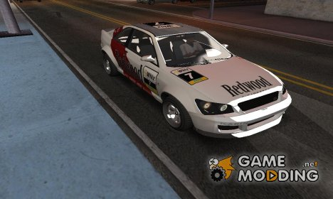 Karin Sultan from GTA V для GTA San Andreas