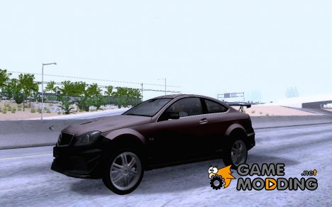 Mercedes Benz C63 AMG Coupe Presiden Indonesia for GTA San Andreas