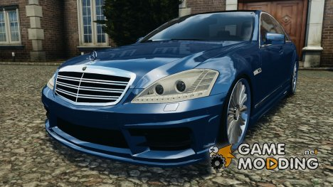 Mercedes-Benz S W221 Wald Black Bison Edition для GTA 4