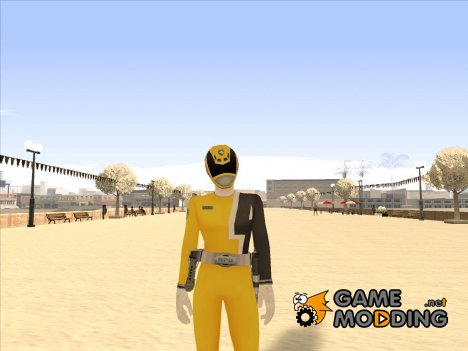Power Rangers RPM Yellow for GTA San Andreas