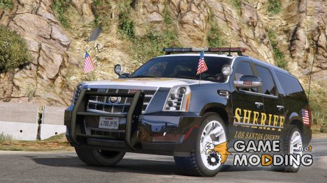2012 Cadillac Escalade ESV Police Version for GTA 5