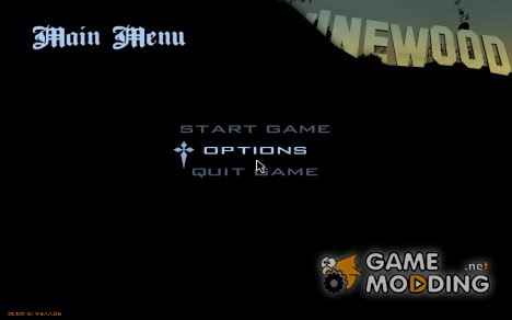 Шрифт из GTA SA Mobile для GTA San Andreas