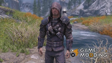 Mercenary Armor RUSSIAN - Thieves guild Guildmaster armor unenchanted для TES V Skyrim