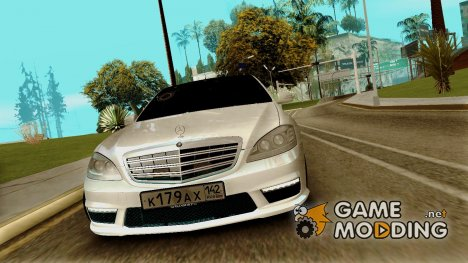 Mercedes-Benz S65 AMG 2012 for GTA San Andreas