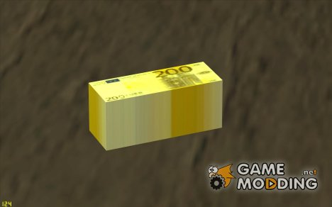 Euro money mod v 1.5 200 euros for GTA San Andreas