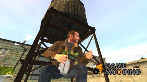 Полуавтоматический пистолет Kimber v.6 для GTA 4