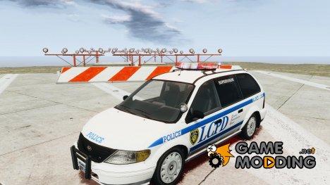LCPD Minivan for GTA 4