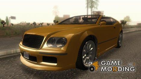 GTA V Enus Cognoscenti Cabrio для GTA San Andreas