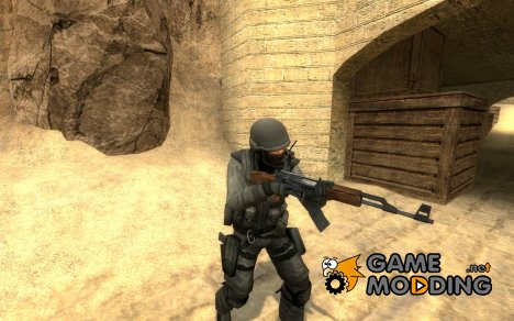 Gray Urban для Counter-Strike Source