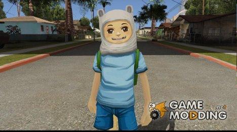 Finn From Cartoon Network Universe Fusionfall Heroes for GTA San Andreas
