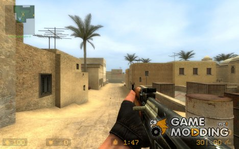 RE-origin AK47 (2) для Counter-Strike Source