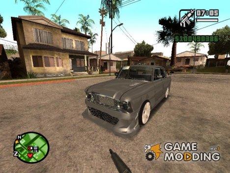 АЗЛК 412 Tuning для GTA San Andreas
