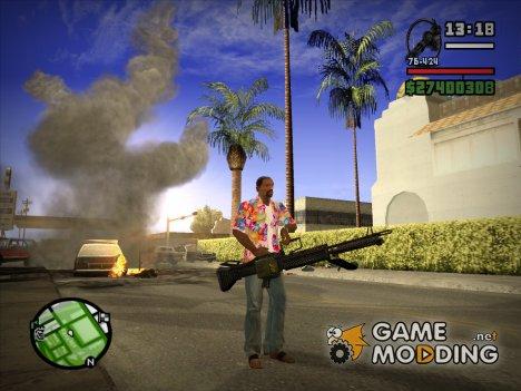 Новый Minigun HD для GTA San Andreas