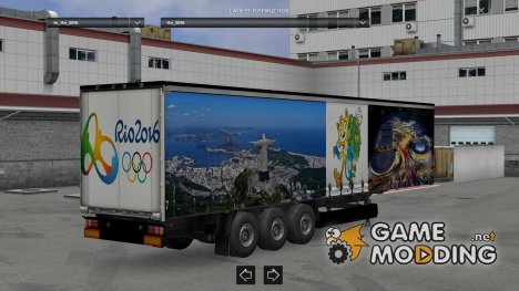 Rio 2016 Trailer for Euro Truck Simulator 2