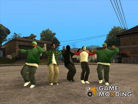 Dance mod for GTA San Andreas