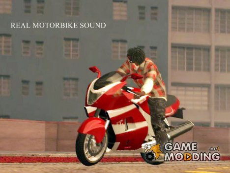 Real Motorbike Sound for GTA San Andreas