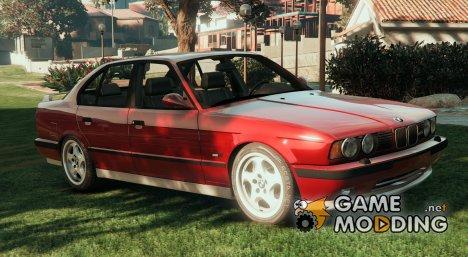 BMW E34 M5 1991 v2 for GTA 5