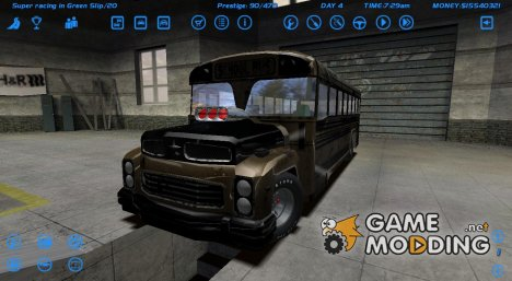School Bus for Street Legal Racing Redline