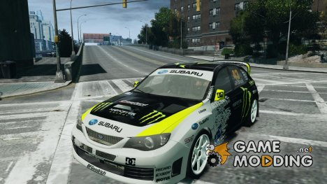 Subaru Impreza WRX STi 2009 Ken Block for GTA 4