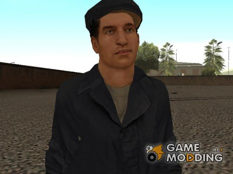Joe's Janitor Outfit from Mafia II для GTA San Andreas