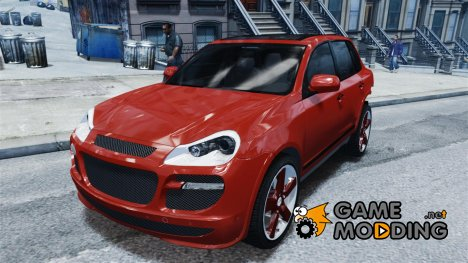 PORSCHE CAYENNE TURBO TUNING for GTA 4