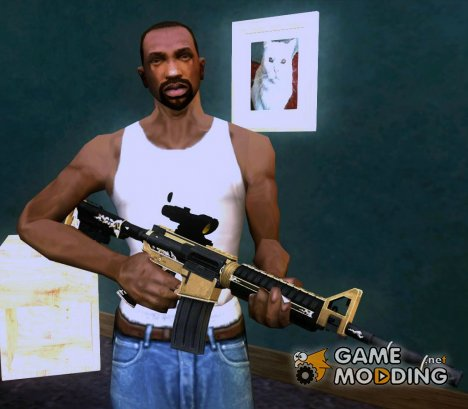 M4A1 from PointBlank для GTA San Andreas
