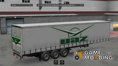 Trailer Pack Car Brands v1.0 for Euro Truck Simulator 2