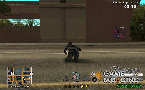 C-HUD by SampHack v.24 for GTA San Andreas