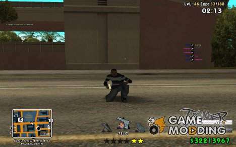 C-HUD by SampHack v.24 для GTA San Andreas