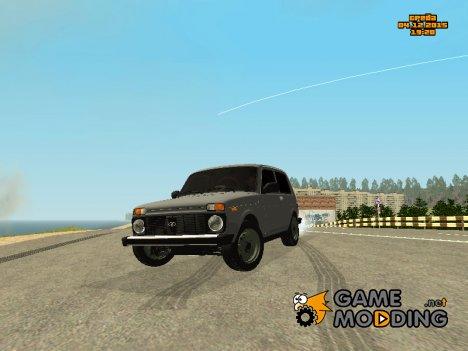 ВАЗ 2123 Нива Автозвук for GTA San Andreas