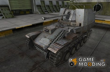 Ремоделинг для Marder II для World of Tanks