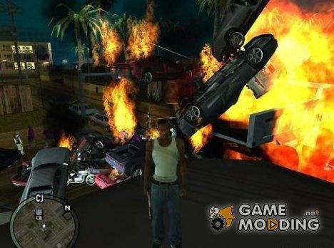 Метаем транспорт for GTA San Andreas