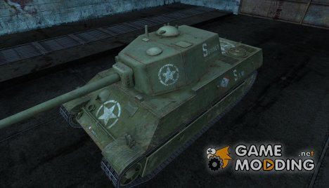 Шкурка для AMX M4 (1945) for World of Tanks