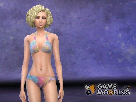 September Swimwear для Sims 4