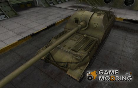 Шкурка для Объект 261 в расскраске 4БО для World of Tanks