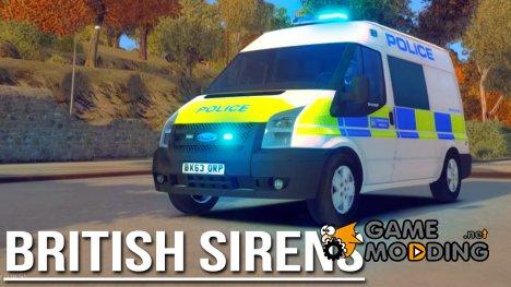 Полицейская сирена полиции Великобритании for GTA 4