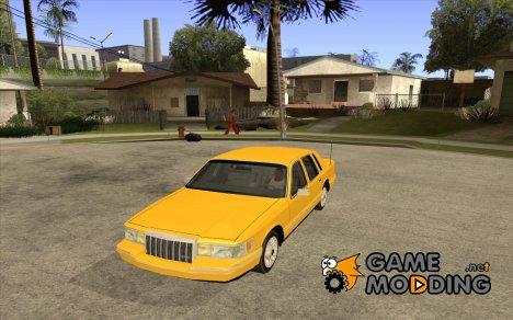 Lincoln Towncar 1991 для GTA San Andreas